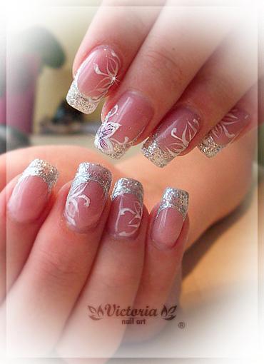 Nail Art 215 Gel Nails By Chocolateblood On Deviantart