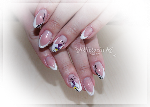 Nail art 266(Gel nails) by ChocolateBlood on DeviantArt