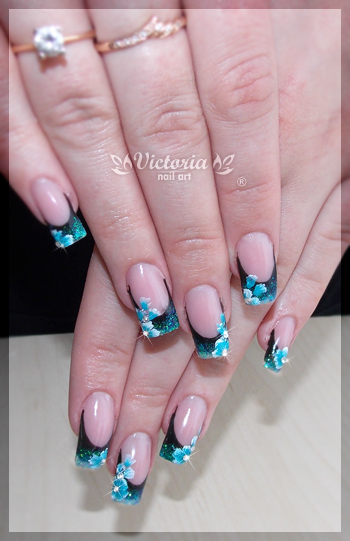 Nail art 267Gel nails by ChocolateBlood on DeviantArt