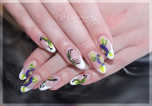 Nail art 269gel nails by chocolateblood on deviantart nail art 269gel nails by chocolateblood prinsesfo Image collections