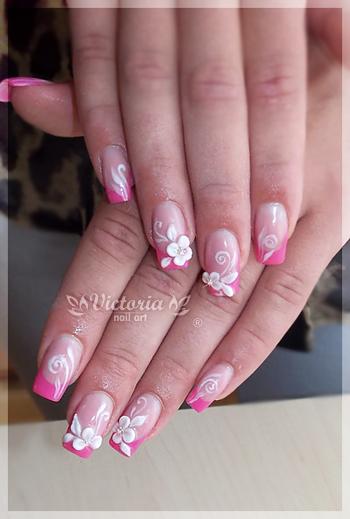 Nail art 282 gel nails by chocolateblood on deviantart nail art 282 gel nails by chocolateblood prinsesfo Choice Image