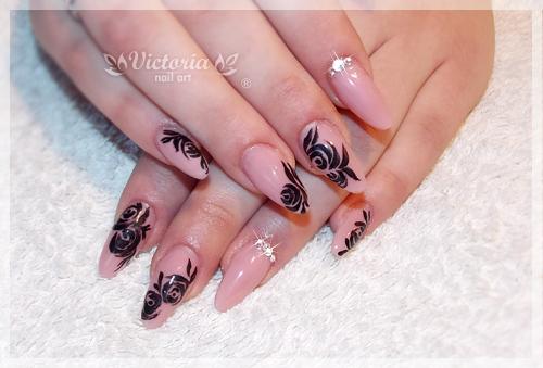 Nail Art 303 Gel Nails By Chocolateblood On Deviantart