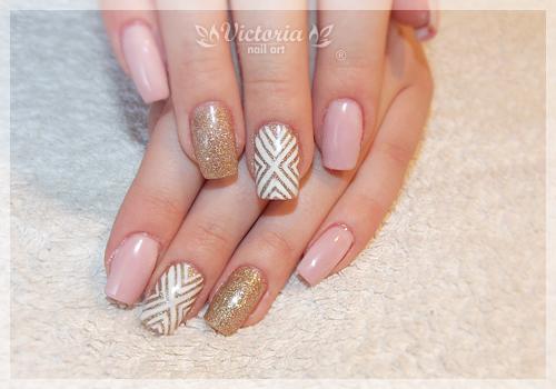 Gel style nail art elegance gel nail design ideas art expert cute gel nail art design from coolnailsart view images prinsesfo Choice Image