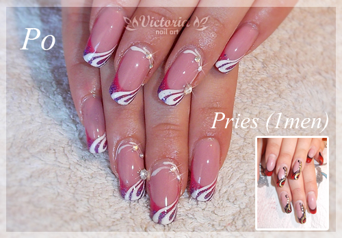 Nail art 315 gel nails by chocolateblood on deviantart nail art 315 gel nails by chocolateblood prinsesfo Image collections