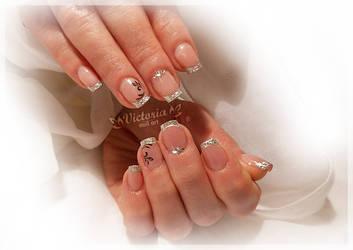 Nail art 437(Gel nails)