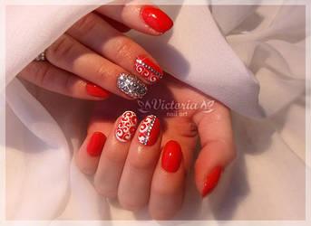 Nail art 438(Gel nails)