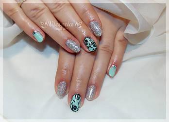 Nail art 444(Gel nails)