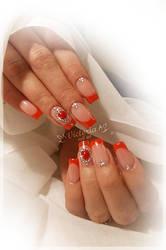Nail art 446(Gel nails)