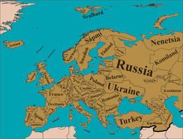 Europe, ca 2064 by Nederbird