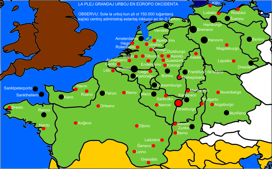Cities Of Western Europe By Nederbird On DeviantArt - Western europe