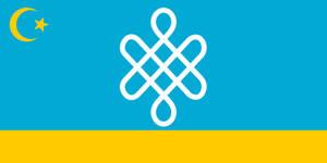 Alternate Flag of Kazakhstan