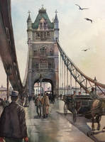 Tower Bridge by echowater