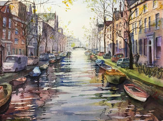Amsterdam by echowater