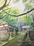 a Shrine, place for god.