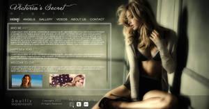 Victoria's Secret Angels Web Template FINAL