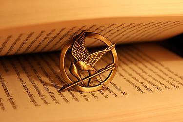 The Hunger Games Book ~ Mockingjay Pin