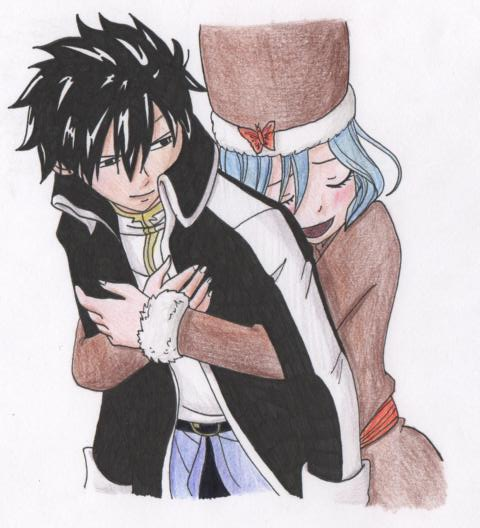 Fairy Tail, Gray x Juv...