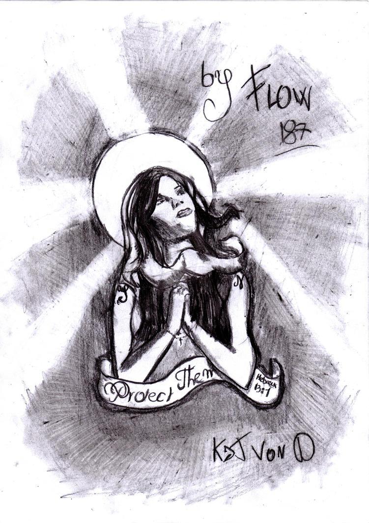 Kat VOn D Is Mary by Flow187 on deviantART