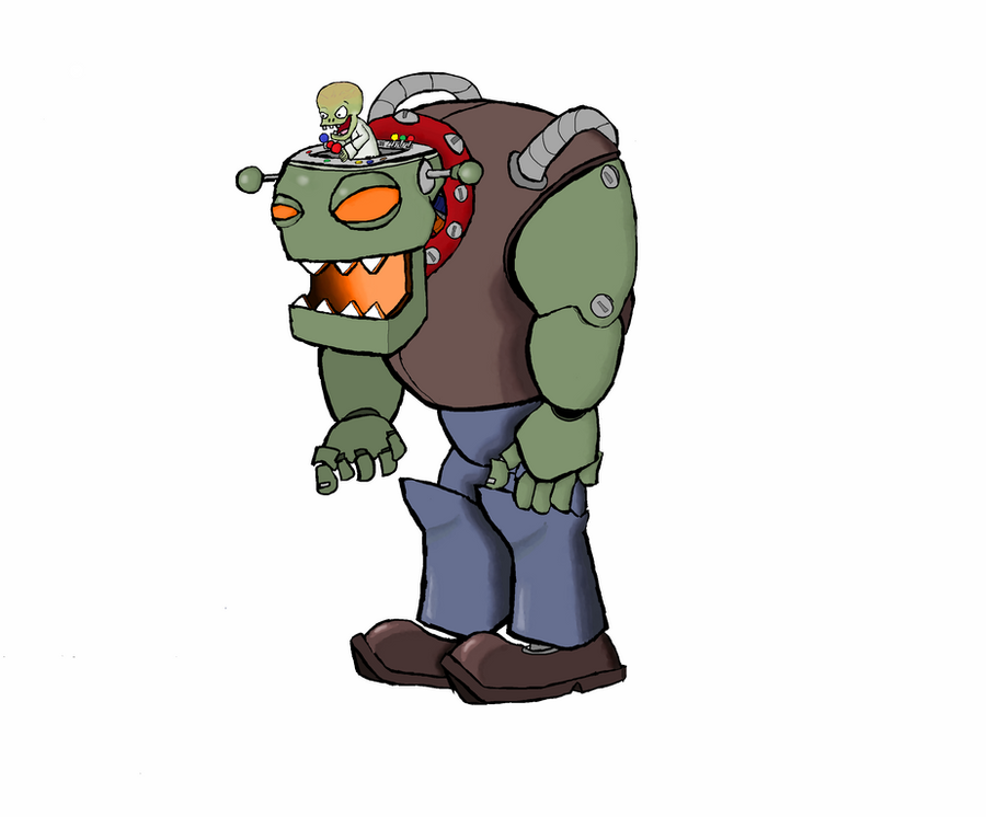 Plants vs zombies dr zomboss by deadshadow9708