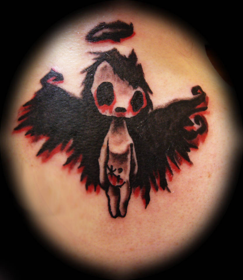 1008e5fc1ceb2 sweet dark angel tattoo by Irreversibel-art on DeviantArt