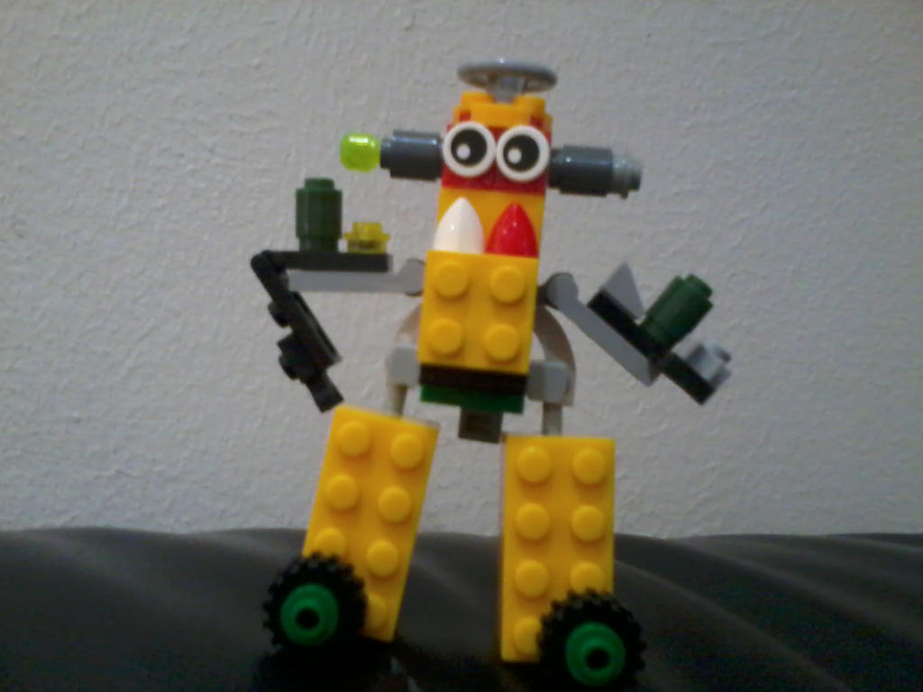LEGO Mixels: Submank By Phoeshock On DeviantArt