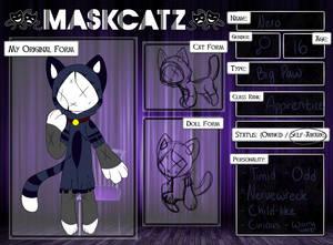 Maskcatz [REF.] | Nero