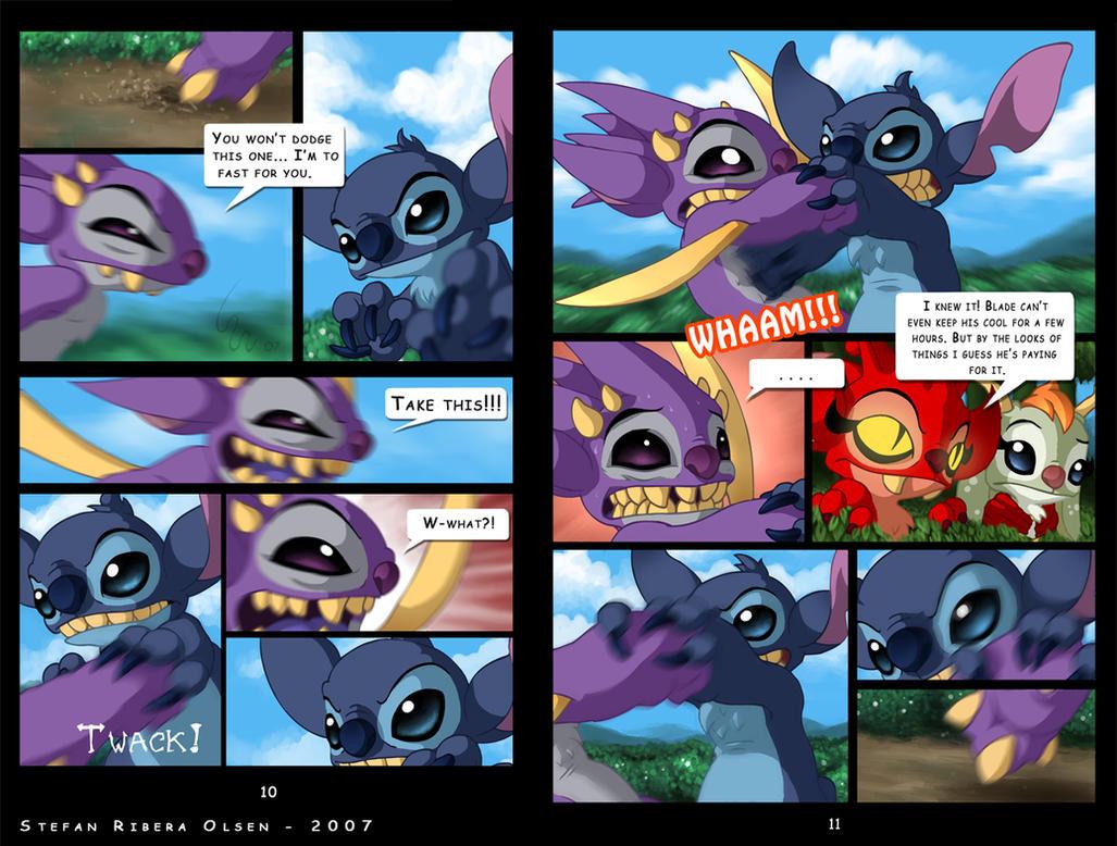 Comics de lilo y stitch xxx