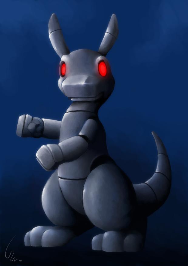 Robo Kangaroo by Ribera