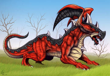 Red Beast - Color by Ribera