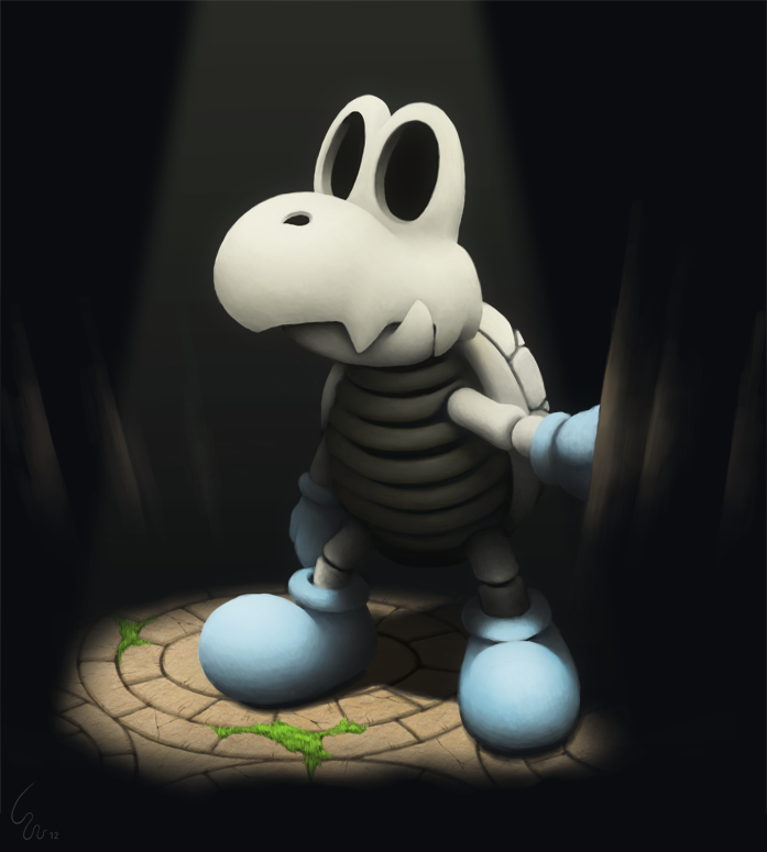 Undead Koopa by Ribera