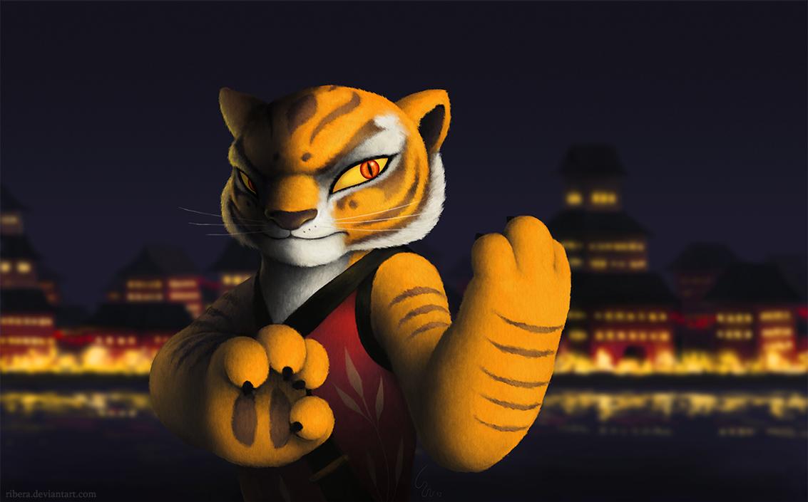 Tigress by Ribera