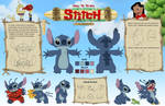 How to draw Stitch