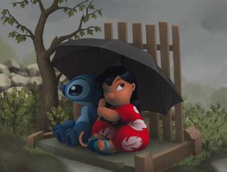 Rainy Day by Ribera