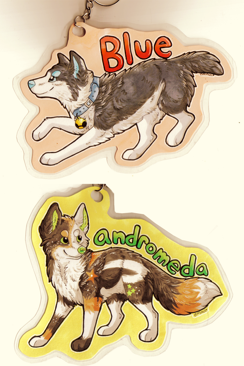 chibi badges for cuddlef1sh by whitepup