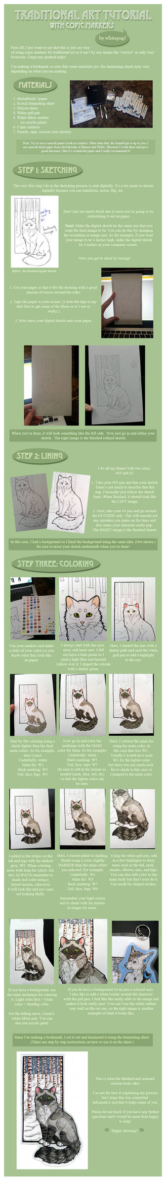 Traditional Art Tutorial - With Markers