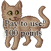 Pixel Cat Base: $1.50 by lilyote