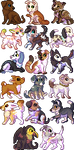 Toucat Icons by lilyote