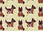 Tile Pattern for Pit-bully #2