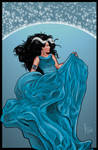 Blue Dress in the Wind ...