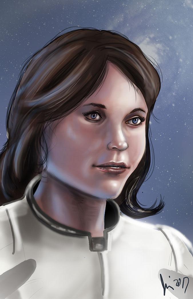 Sara Ryder by JamieCOTC
