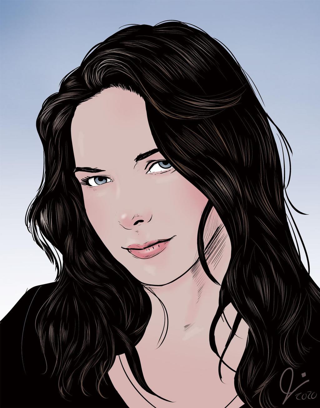 Rebecca Ferguson (Minimalist Color)
