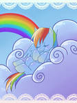 Rainbow Dash Card