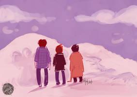 snow angels by speep