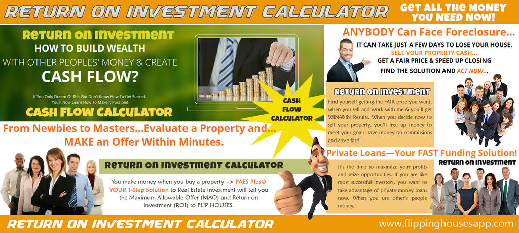 Return On Investment by CashFlowAnalysis