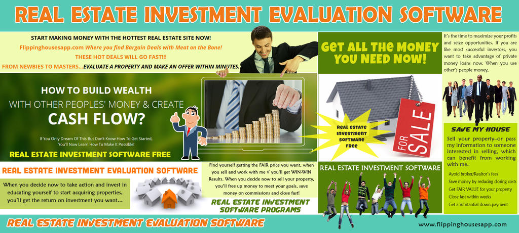 Real Estate Investment Software by CashFlowAnalysis