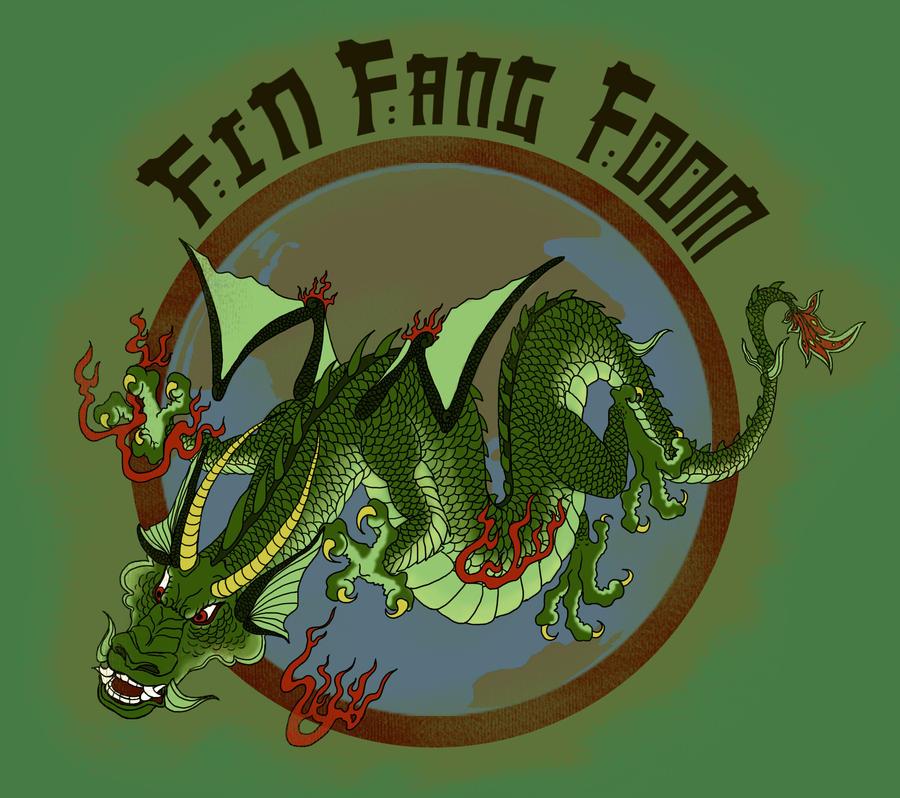 Fin Fang Foom by FinalChara