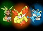 Pokemon Gen 6 starters