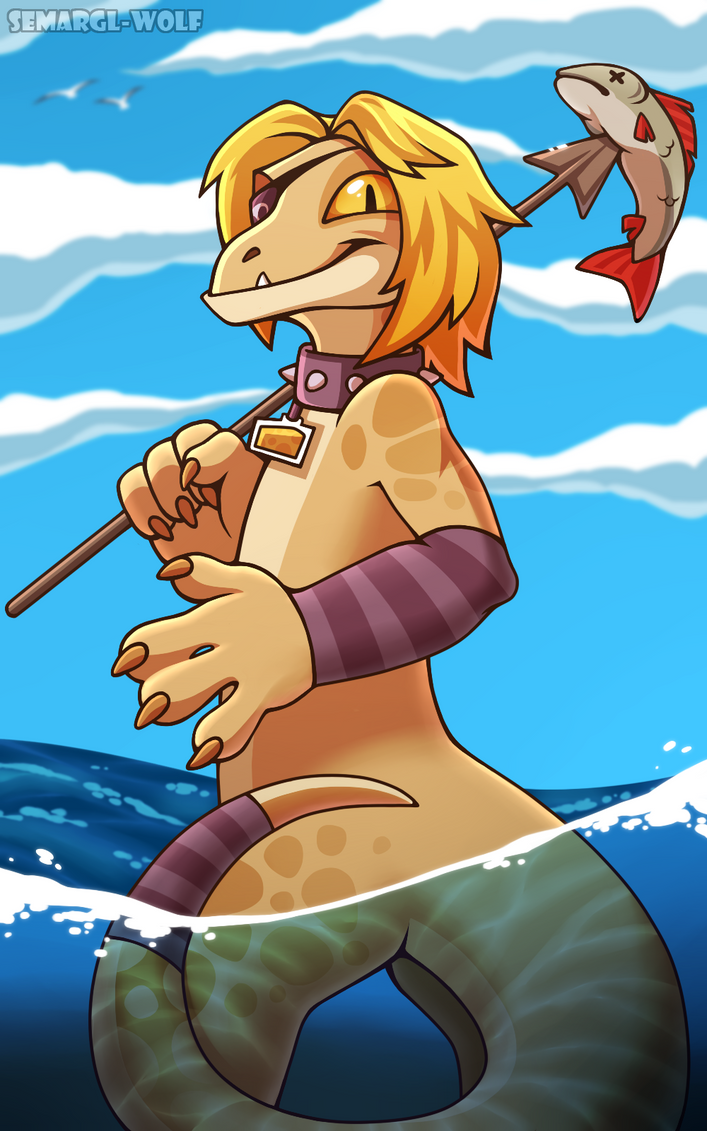 Summer Fishing by Semargl-Wolf