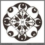 Atramentous Dreams Mandala