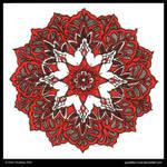 Ruby Dreams Mandala